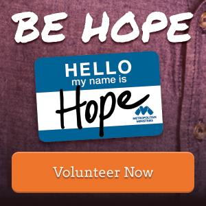 Be Hope -- Volunteer